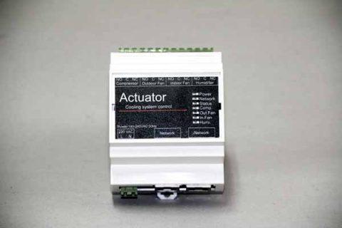 واحد تولید کننده سیگنال کنترلی و پایش پارامترهای الکتریکی