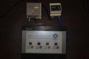 ماژول تولیدکننده سیگنال کنترلی و پایش پارامترهای الکتریکی